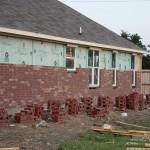 Brick on the House