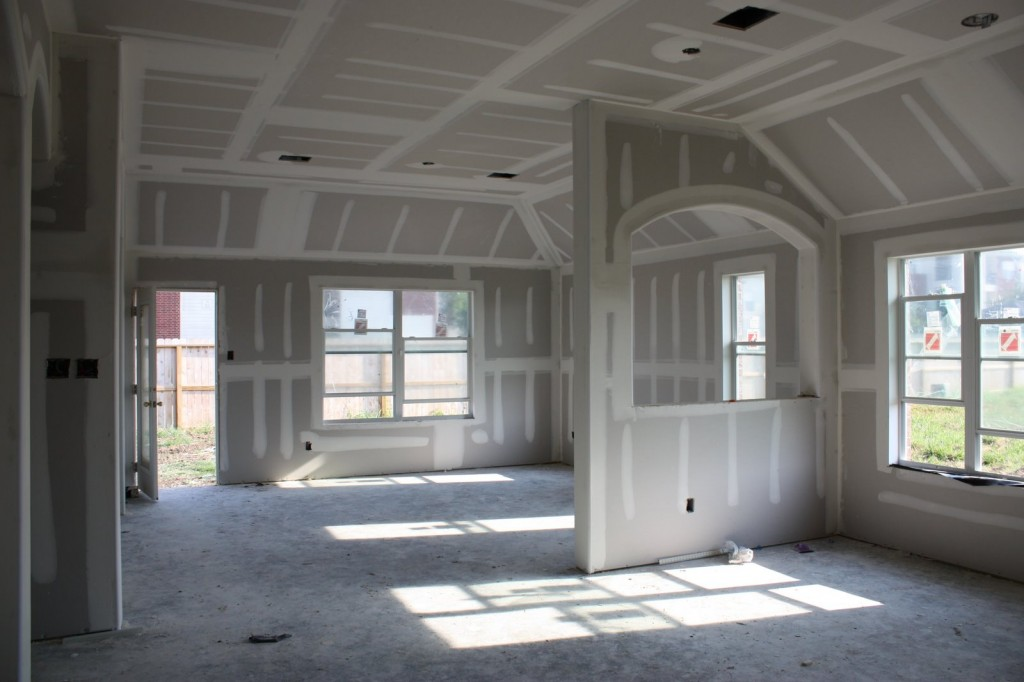 inside of the house - New House Inside