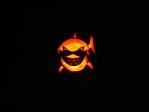 Bruce the Shark Pumpkin