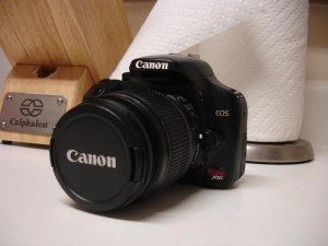 Canon EOS Rebel XSi DSLR Camera