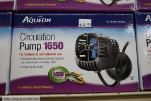Aqueon Circulation Pump 1650
