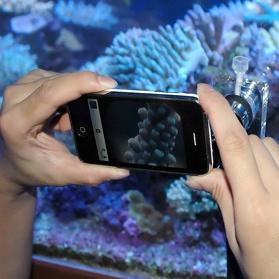 NanoScope with iPhone