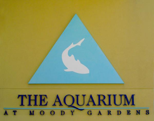 Moody Gardens Aquarium Exhibit
