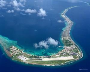 Kwajalein Aerial View