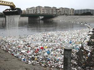 Plastic Debris in Water