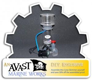 AVAST Marine Works DIY Protein Skimmer