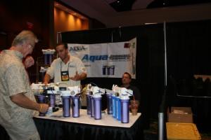 AquaFX Displaying Their RO Units