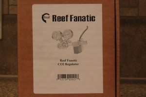 Reef Fanatic CO2 Regulator