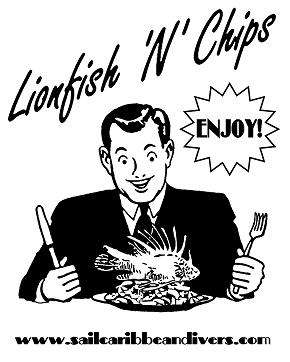 Eat Lionfish Poster