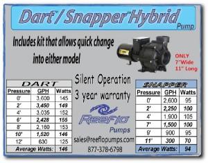 Reeflo Dart Snapper Hybrid