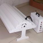 White CoralVue Lumen Bright and LED Fixture