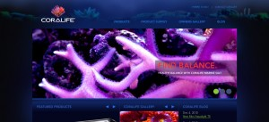 Coralife's New Website