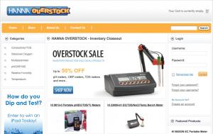 Hanno Overstock Website