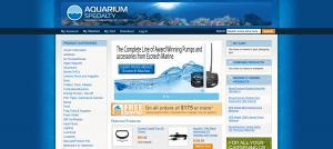 New Aquarium Specialty Site