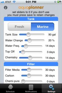 aquaPlanner App
