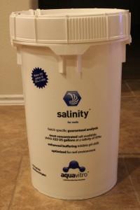 Seachem aquavitro salinity