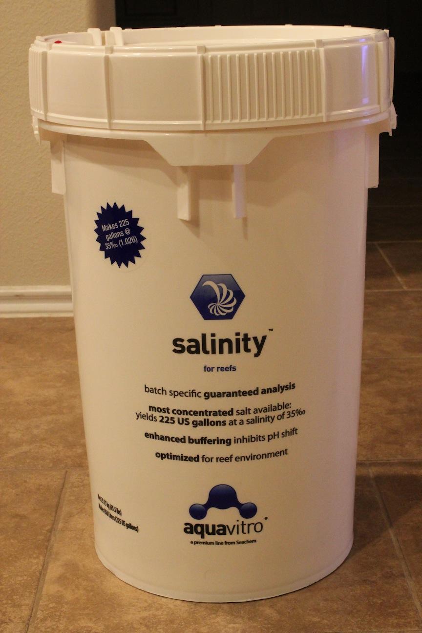 Seachem Aquavitro Salinity Salt Review Aquanerd