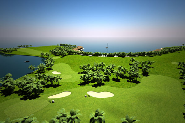 Maldive Islands Golf Course
