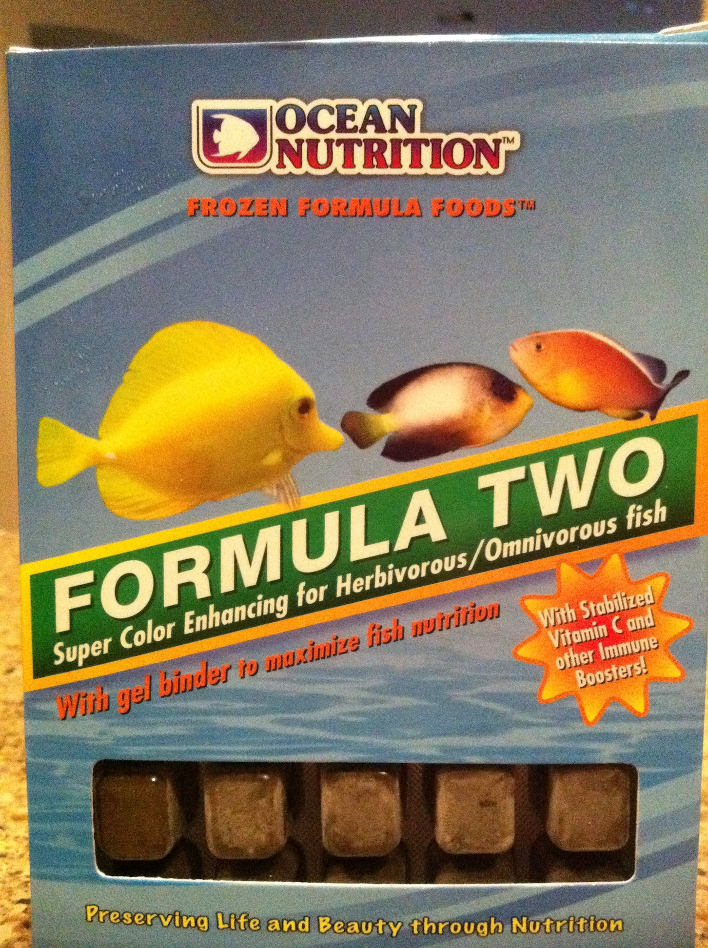 Ocean Nutrition Formula Two Gel Food