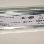 Orphek Slimline LED Fixture Label