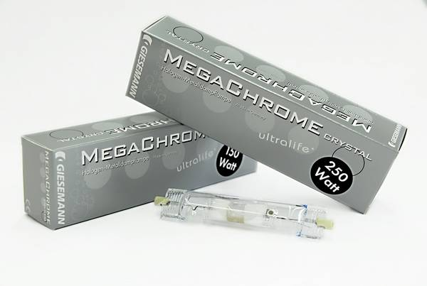 Giesemann MegaChrome Crystal Metal Halide Bulbs