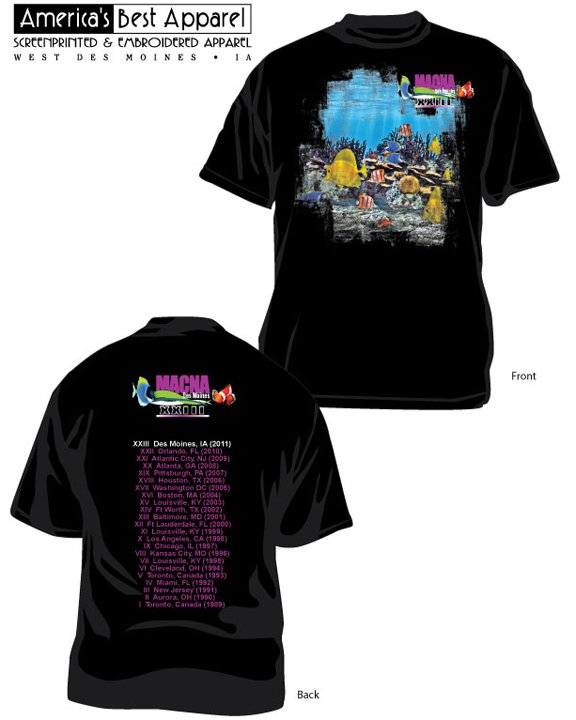 MACNA 2011 Shirt Design