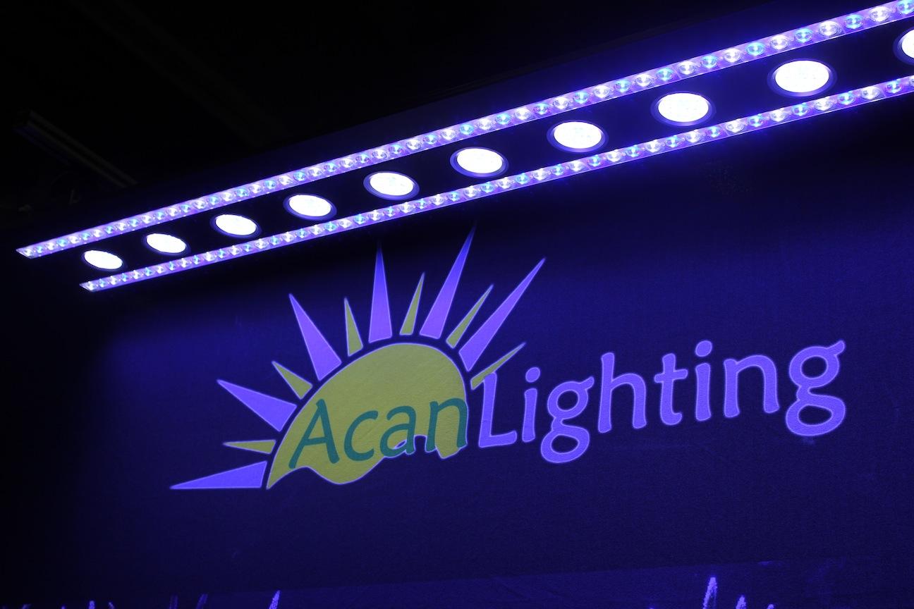 Acan Lighting Booth at MACNA
