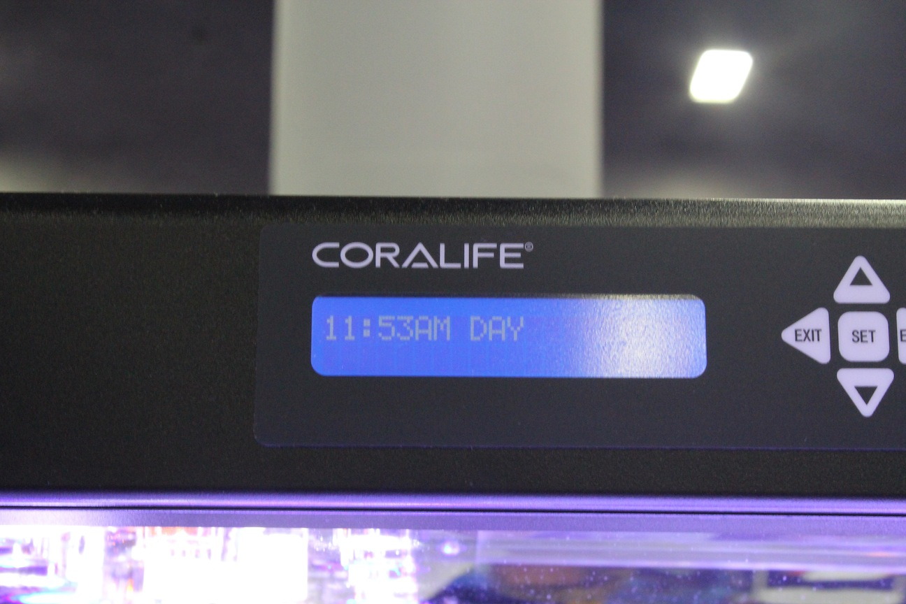 Coralife LED Aqualight Control Interface