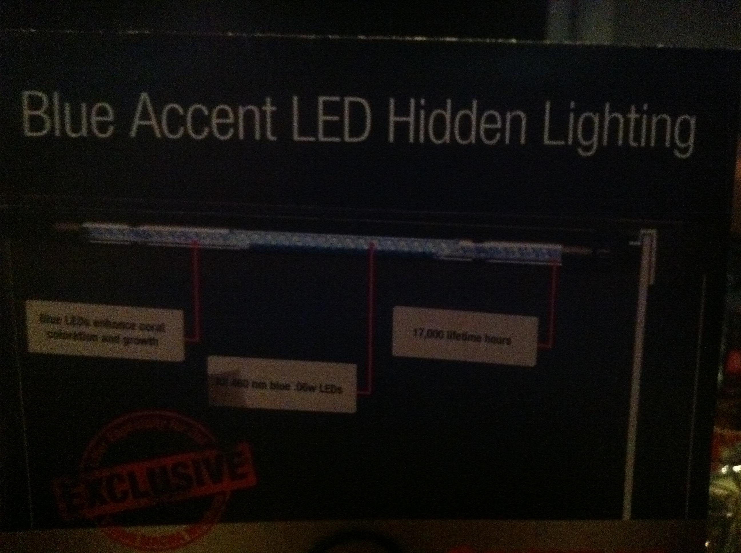 Marineland Blue Accent LED Prototype