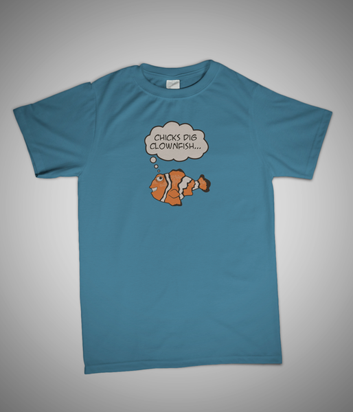 Reefer Tees Clownfish T-shirt