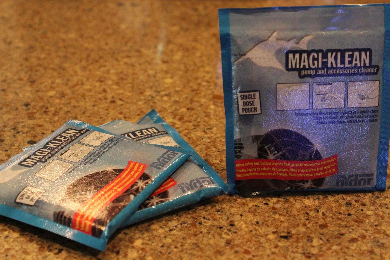 Magi-Klean Packets
