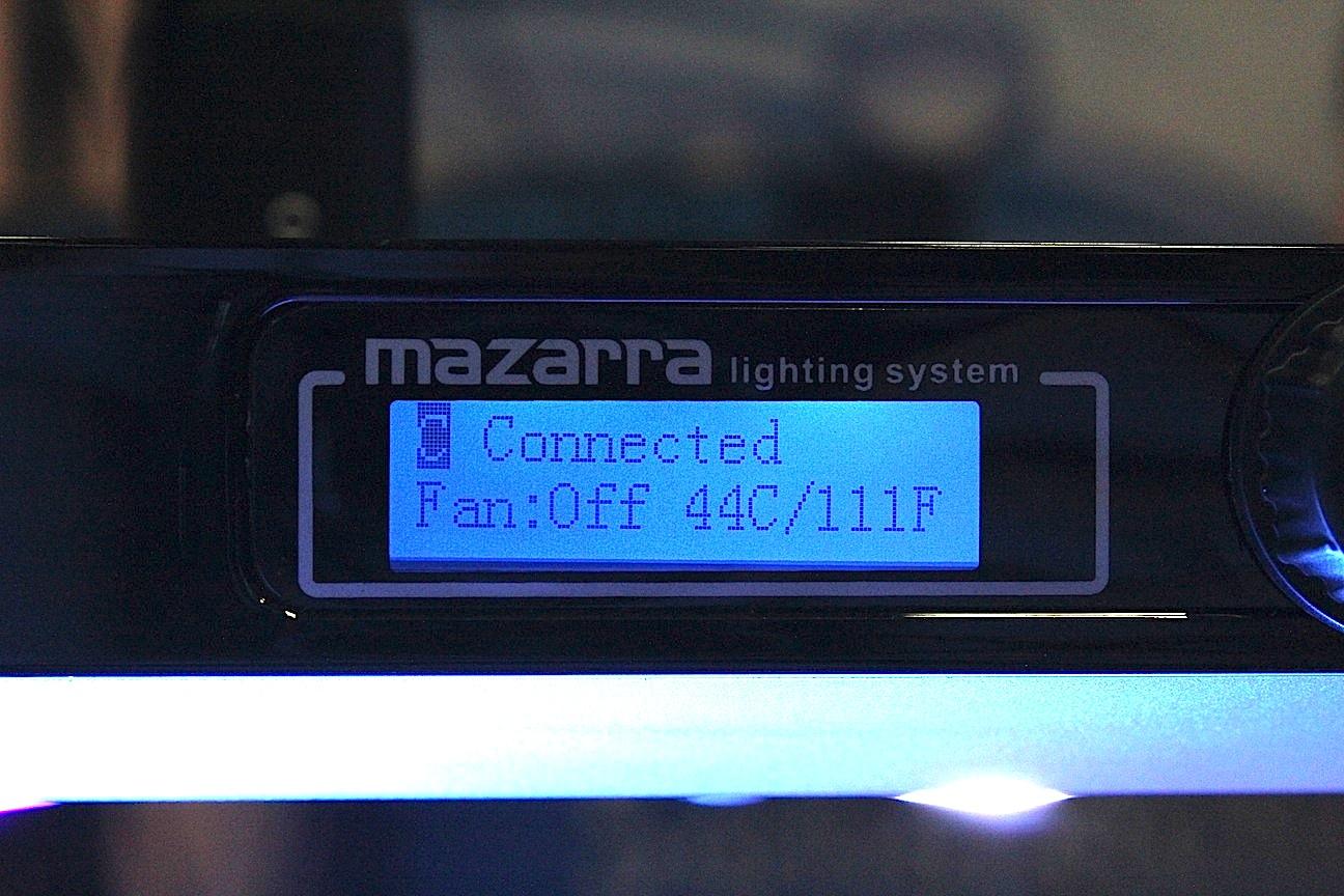 Maxspect Mazarra Module Display Screen