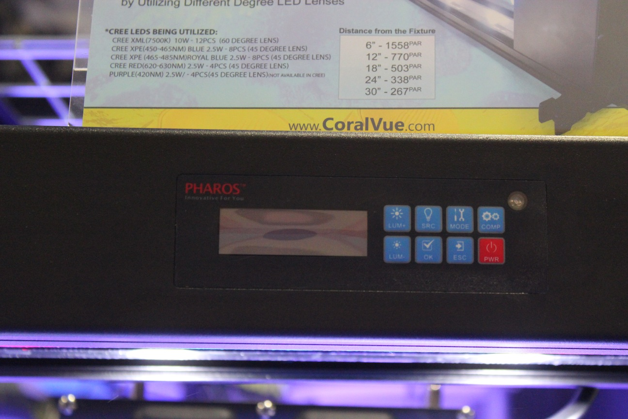 Pharos LED Control Panel