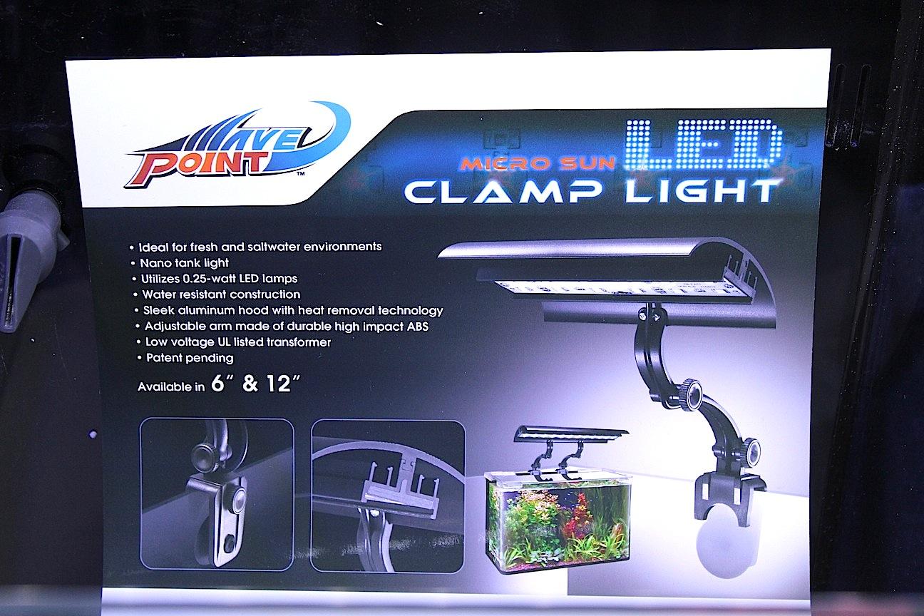 WavePoint Micro Sun LED Clamp Light