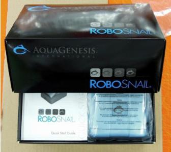 AquaGenesis RoboSnail Packaging