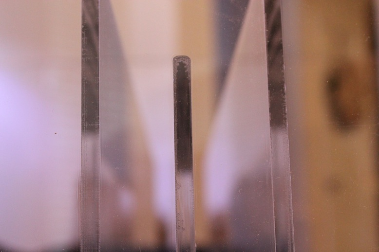 Baffles in Acrylic Sump