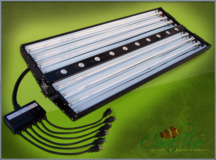 Coralvue T5HO and LED Hybrid Fixture