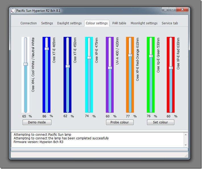 Pacific Sun Metis Hyperion R2 Software
