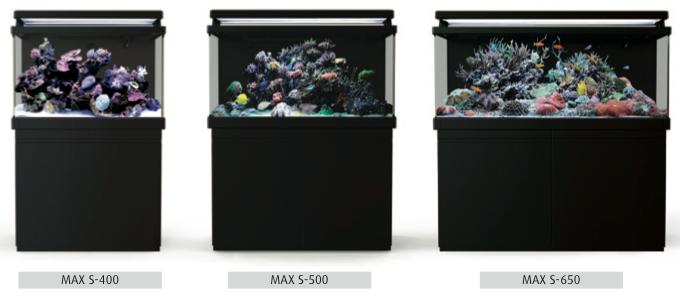 Red Sea Max-S Aquarium Lineup
