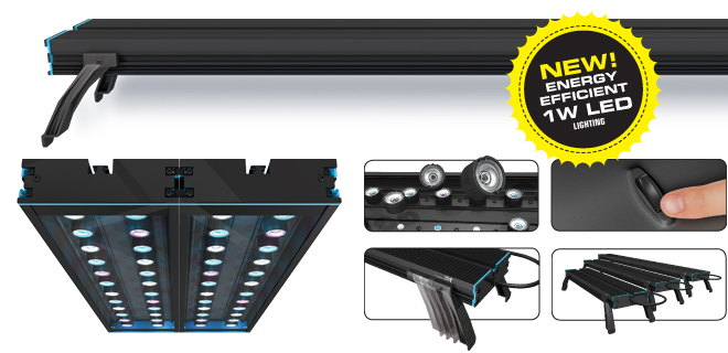 AquaticLife 1W LED Fixtures