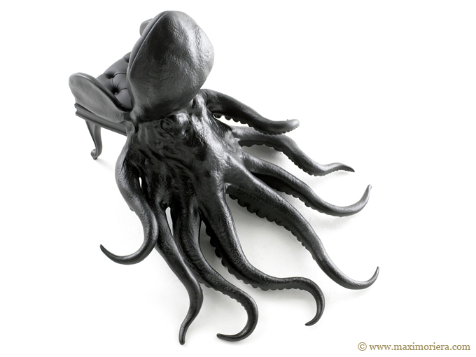 Octopus Animal Chair Top
