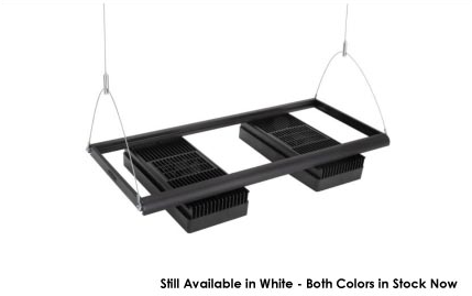 AquaIllumination Black Mounting Rails