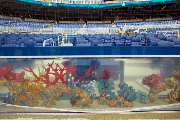 Aquarium at Miami Marlins Stadium