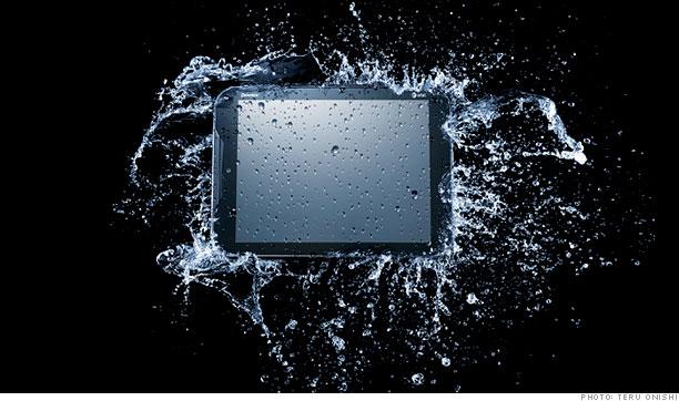 Waterproof Pantech Element Tablet
