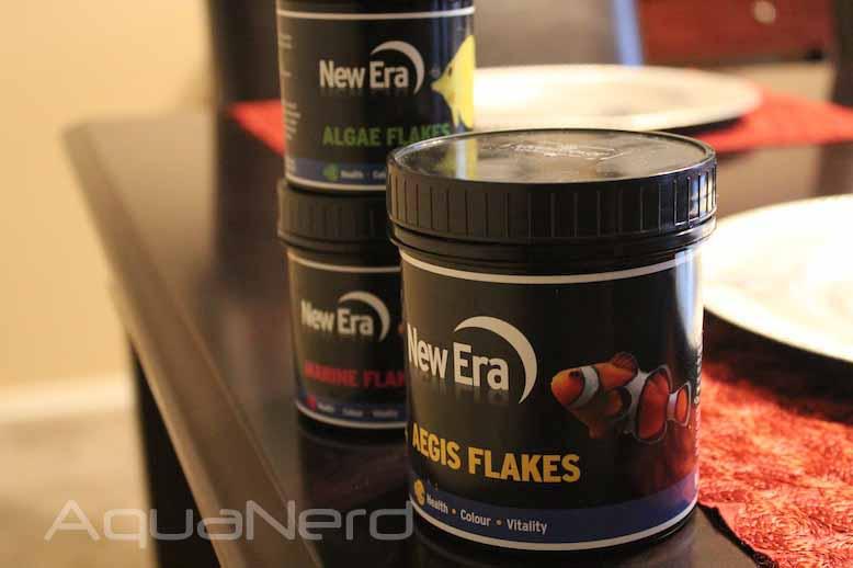 New Era Aquaculture Flake Food