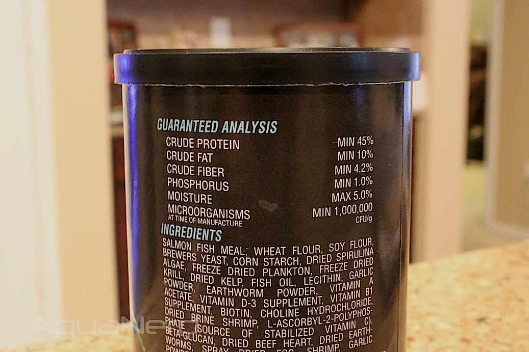 Cobalt Aquatics Flake Nutrition