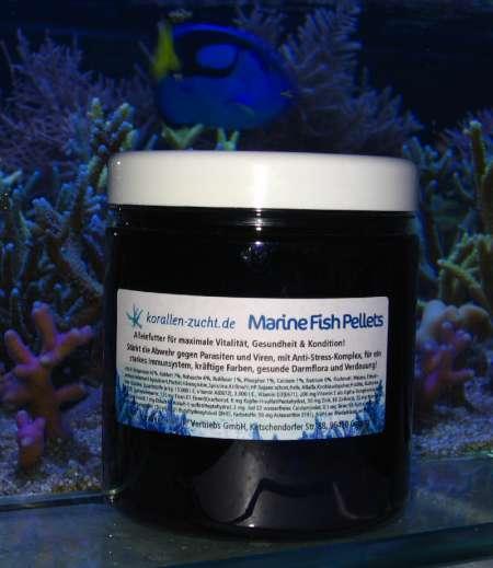 Korallen Zucht Marine Fish Pellets