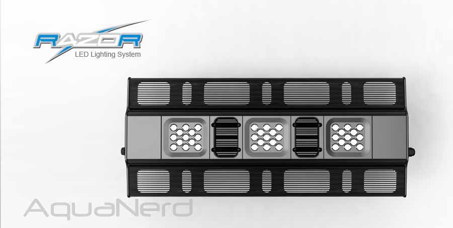 Maxspect Razor LED Layout