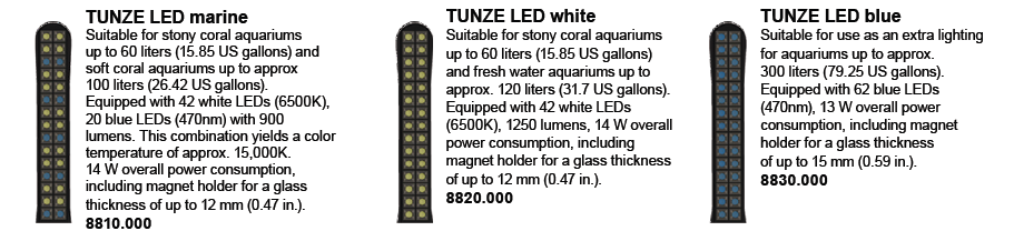 Tunze LED Colors