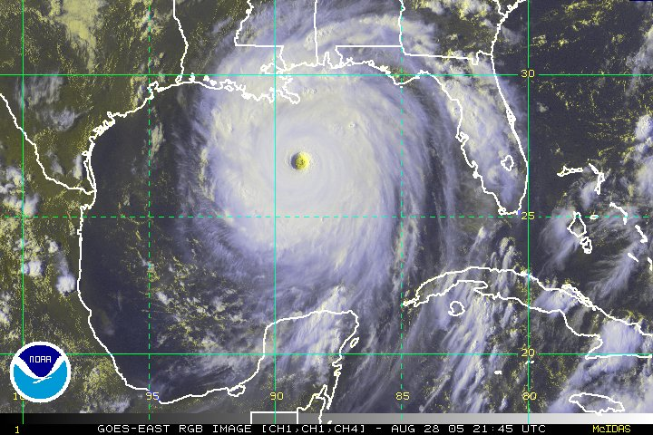 Hurricane Katrina from NOAA